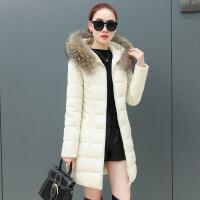 女式棉袄女棉衣服女冬季羽绒女中长款加厚外套女