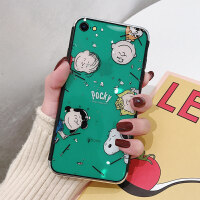 苹果x手机壳创意网红女款iphone6s史努比滴胶半透明软壳xsmax潮男全包xs硅胶xr情侣网红7