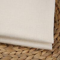 沙发土布料素色加厚亚麻沙发布料纯色棉麻田园面料桌布抱枕坐垫背景软包