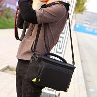 尼康相机包D3300D3400D5300D5500D7100D7200D750单反单肩摄影 新款加厚 小号+肩带