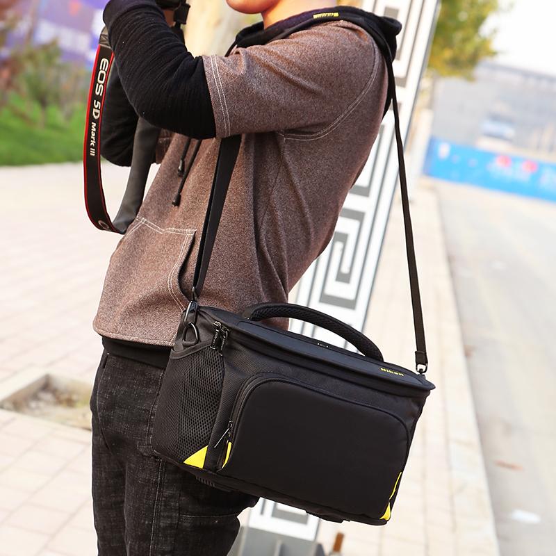 尼康相机包D3300D3400D5300D5500D7100D7200D750单反单肩摄影 新款加厚 小号+肩带 发货周期:一般在付款后2-90天左右发货,具体发货时间请以与客服协商的时间为准