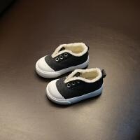 宝宝棉鞋男童1-2-3岁小童鞋子冬季新款宝宝鞋女童加绒懒人布鞋潮