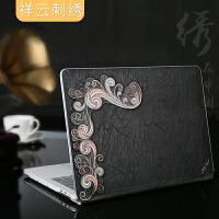 JRC mac苹果笔记本保护壳macbook pro13.3寸电脑保护套mac刺绣13外壳 新款pro13.3寸(A1
