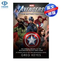 英文原版 漫威 复仇者联盟 Marvel's Avengers: The Extinction Key 科幻小说