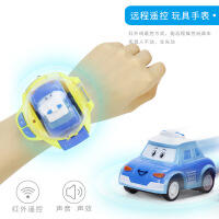 萌味 手表遥控车迷你遥控小汽车手表儿童玩具表带汽车男女孩