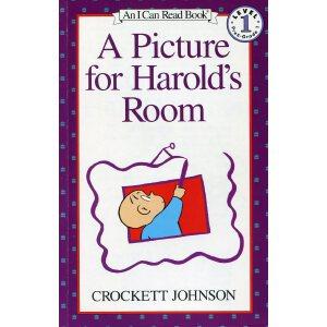 英文绘本 原版进口  A Picture for Harold's Room I Can Read [4-8岁]