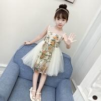 女童裙子夏季新款儿童夏装女宝宝洋气连衣裙公主裙蓬蓬纱裙潮