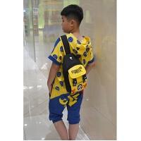 男童包包儿童胸包小学生单肩包男孩子斜挎包旅游背包男宝宝小包包 路飞