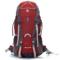 登山包中型透气背负尼龙防水徒步重型双肩背包