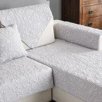 沙发垫布艺全棉四季简约现代通用皮纯棉坐垫靠背巾客厅沙发套沙发贵妃凉席沙发万向罩三人位沙发凉席蕾丝