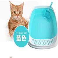 【支持礼品卡】宠物用品 品质宠物猫砂盆 猫厕所 高边防猫砂抛出 hp3