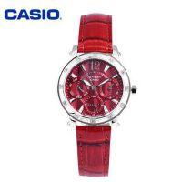 卡西欧手表时尚镶钻钢带女士手表石英钢带女表 SHN-3012L-4A
