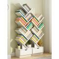 【领券到手价29元】书架落地简约现代置物架书柜落地书架小书柜创意简易架子