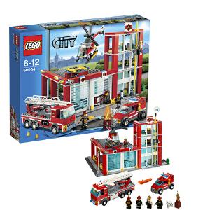 [当当自营]LEGO 乐高 CITY城市系列 消防总局 积木拼插儿童益智玩具 60004