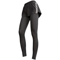 两件高腰运动裤女弹力紧身速干长裤跑步裤瑜伽健身裤