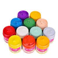 美邦水粉颜料儿童学生用美术色彩颜料套装广告画初学者颜料100ml罐装18色24色36色42色水粉画颜料工具箱套装