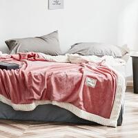 珊瑚绒毛毯被子加厚双人冬季双层保暖法兰绒床单人学生宿舍小毯子