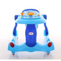 婴儿学步车多功能可折叠6/7-18个月防侧翻宝宝儿童手推可坐5qn
