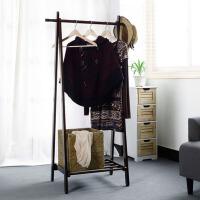 创意家居楠竹衣帽架客厅卧室落地挂衣架置物架衣服架子