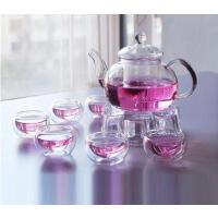 泡茶壶水杯套装玻璃茶壶冷水壶玻璃过滤功夫花茶壶花草茶具