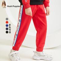 【3件3折价:99元】暇步士童装男童裤子春装新款儿童休闲裤洋气运动裤中大童长裤