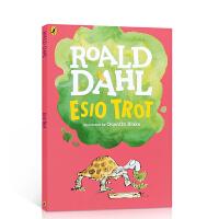 【全店300减100】英文原版 Esio Trot 小乌龟是怎样长大的 Roald Dahl罗尔德・达尔经典童话故事 儿