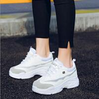 【支持礼品卡支付】2018夏季新款厚底鞋子老爹鞋跑步鞋韩版运动鞋女 RA1801-5
