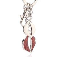 创意红唇之吻钥匙扣汽车钥匙挂件包包挂饰钥匙链
