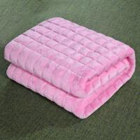 薄款软法莱绒床垫床褥子垫被榻榻米珊瑚绒双人1.8m1.5学生宿舍1.2