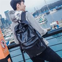 休闲男士双肩包迷彩韩版学生书包帆布时尚潮流旅行背包电脑包潮包