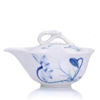 陶瓷盖碗大号泡茶杯防烫茶壶功夫茶具三才普洱泡茶碗手抓壶