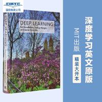 现货 英文原版 深度学习 Deep Learning AI圣经 Elon Musk推荐 精装 MIT出版社