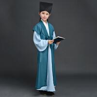 儿童古装汉服童装书童国学服男女童三字经表演服演出舞蹈服