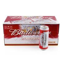 【中粮我买】百威啤酒罐装 500ml*3 *6