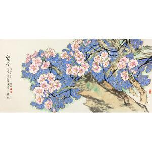 郭怡宗《野花》著名画家