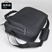 笔记本电脑包鼠套装通用男14寸15.6防水斜挎手提单肩