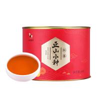 八马茶业 武夷山桐木关正山小种红茶罐装茶叶散装自饮装80克