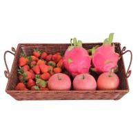 家用收纳篮长方形果盆客厅ktv果盘水果盘