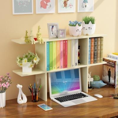 幽咸家居 简易桌面小书架学生用桌上书架儿童置物架办公室书桌收纳宿舍书柜 发货需4天左右