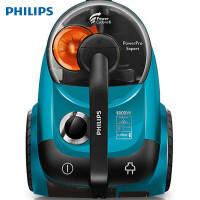 飞利浦(PHILIPS)家用吸尘器FC9715 大功率无尘袋 第六代飓风离尘技术 浅蓝色
