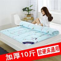 床垫子1.8m床2米双人褥子1.5m棉花褥垫被学生宿舍单人1.2铺榻榻米
