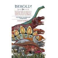 英文原版 折叠科普绘本:恐龙 融合历史、科技与艺术 Behold, the Dinosaurs! (Leporello