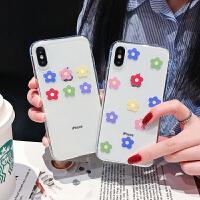 泫雅同款8plus苹果x手机壳XS Max/XR/iPhoneX/7p/6女iphone6s防摔 6/6s 透明tpu