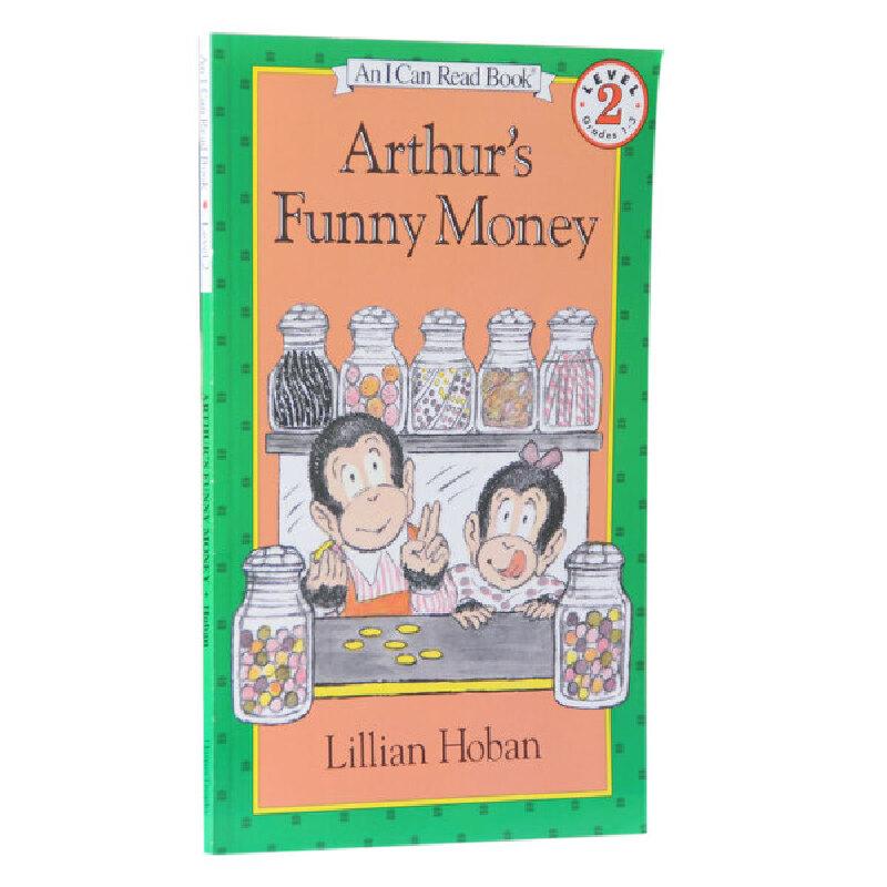 汪培珽推荐英文原版An I Can Read, Level 2 Arthur's Funny Money 亚瑟的有趣的钱币    送音频黑猩猩亚瑟想赚钱买一顶帽子 将简单的金钱概念巧妙地融入了风趣幽默的故事