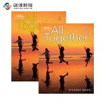 All Together 4级别学生用书+练习册 英语原版进口少儿英语教材美国国家地理少儿英语教材