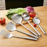 萌味 厨具套装 厨房锅铲套装 炒菜铲子汤勺漏勺全套炊具不锈钢厨具六件套 创意厨房用具