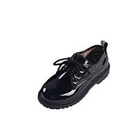 儿童黑色小皮鞋男童演出皮鞋男孩童鞋大童单鞋春秋小孩童鞋韩版夏