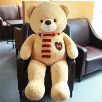 泰迪熊猫公仔抱抱熊女孩大布娃娃玩偶毛绒玩具送女友熊熊生日礼物