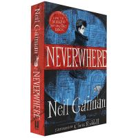 Neverwhere 乌有乡 美国众神作者Neil Gaiman尼尔盖曼作品 英文原版小说