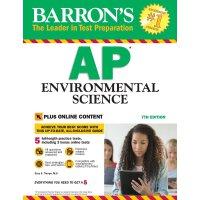 【现货】英文原版 巴朗AP环境科学,第7版 Barron's AP Environmental Science, 7t